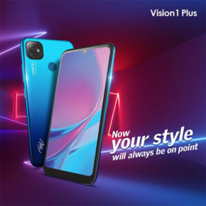 Itel Vision 1 Plus Dual Sim (4G, 3GB, 32GB, Blue) With Official Warranty Price In Pakistan