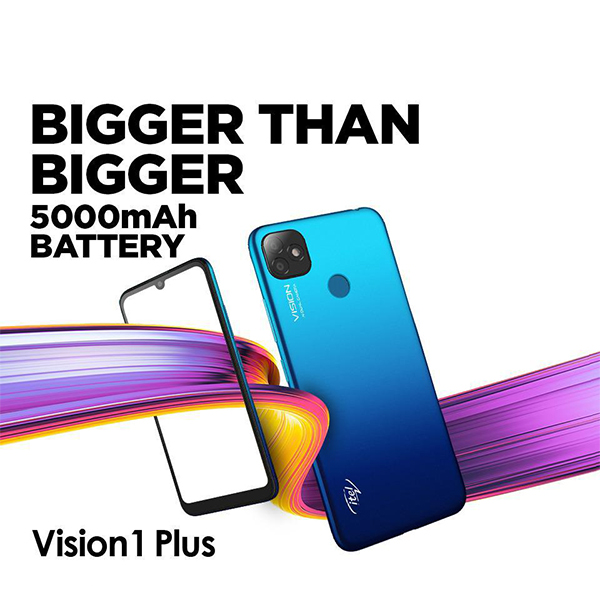 Itel Vision 1 Plus Dual Sim (4G, 3GB, 32GB, Blue) With Official Warranty Price In Lahore