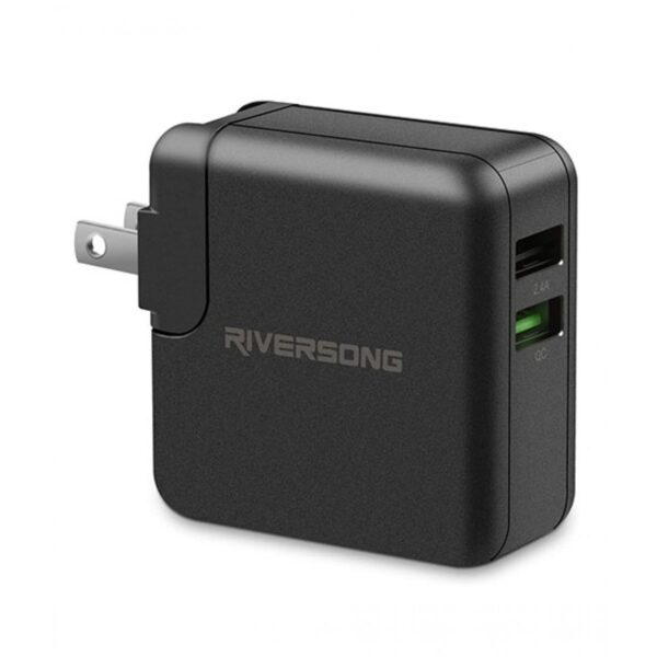 Riversong PowerHub QC 3.0 Wall Charger Black Price In Pakistan