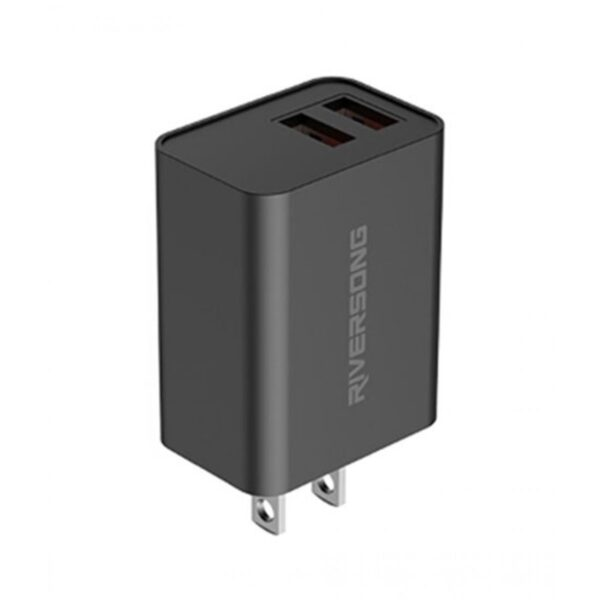 Riversong SafeKub D2 2.4A Wall Charger Black Price In Pakistan